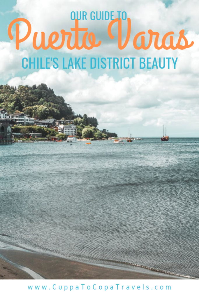 The town with the pretty red church by the lake: Puerto Varas, Chile