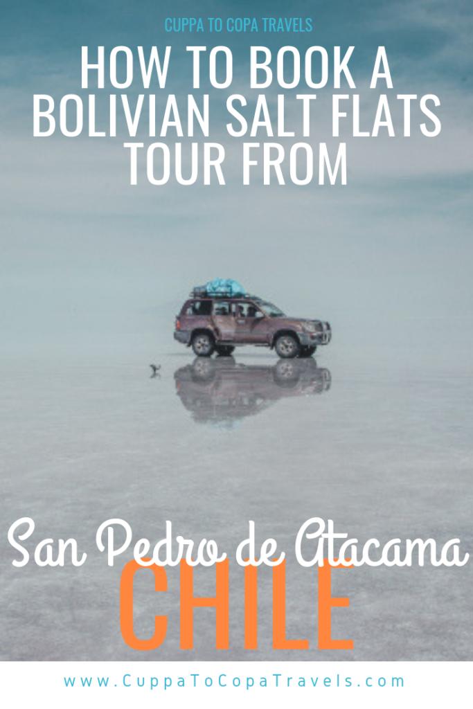 How to book an Uyuni Bolivian salt flats tour from San Pedro de Atacama Chile
