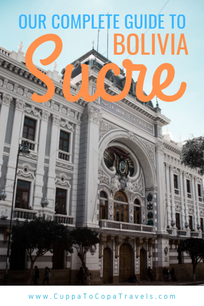 Things to do in Sucre free walking tour Bolivia travel guide