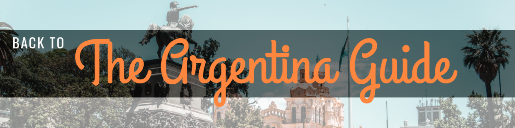 Argentina travel blog guide