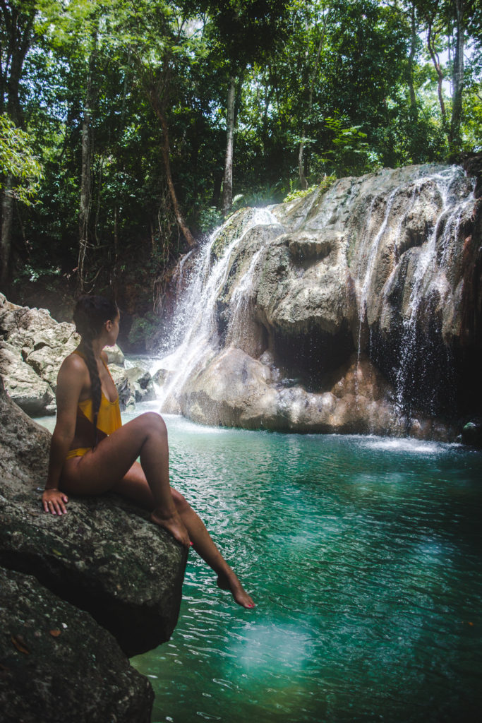 If we only had 2 weeks: Guatemala Itinerary | Rio Dulce Finca Paraiso hot thermal sprint waterfall | Guatemala Travel Guide by Cuppa to Copa Travels
