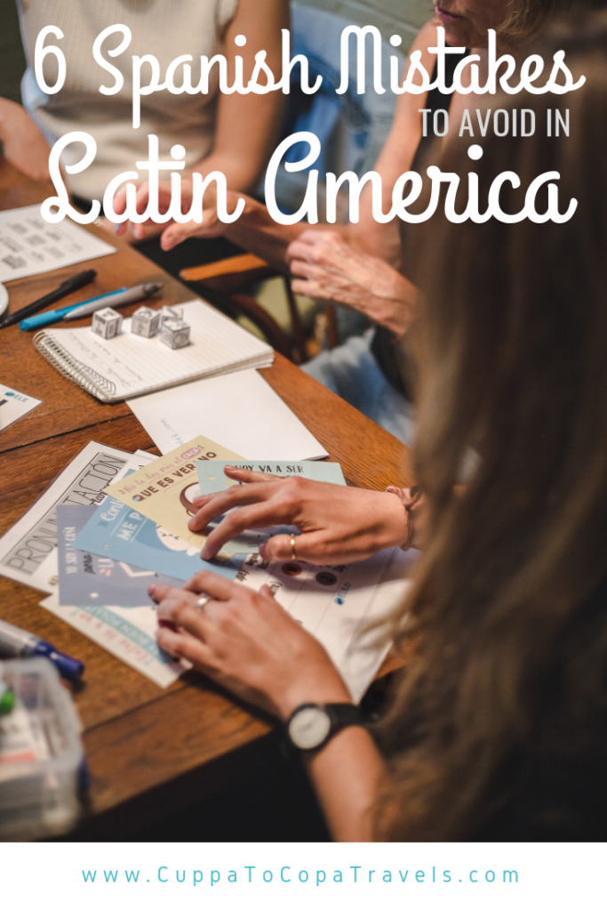 6 common spanish mistakes to avoid in latin america south america language learning