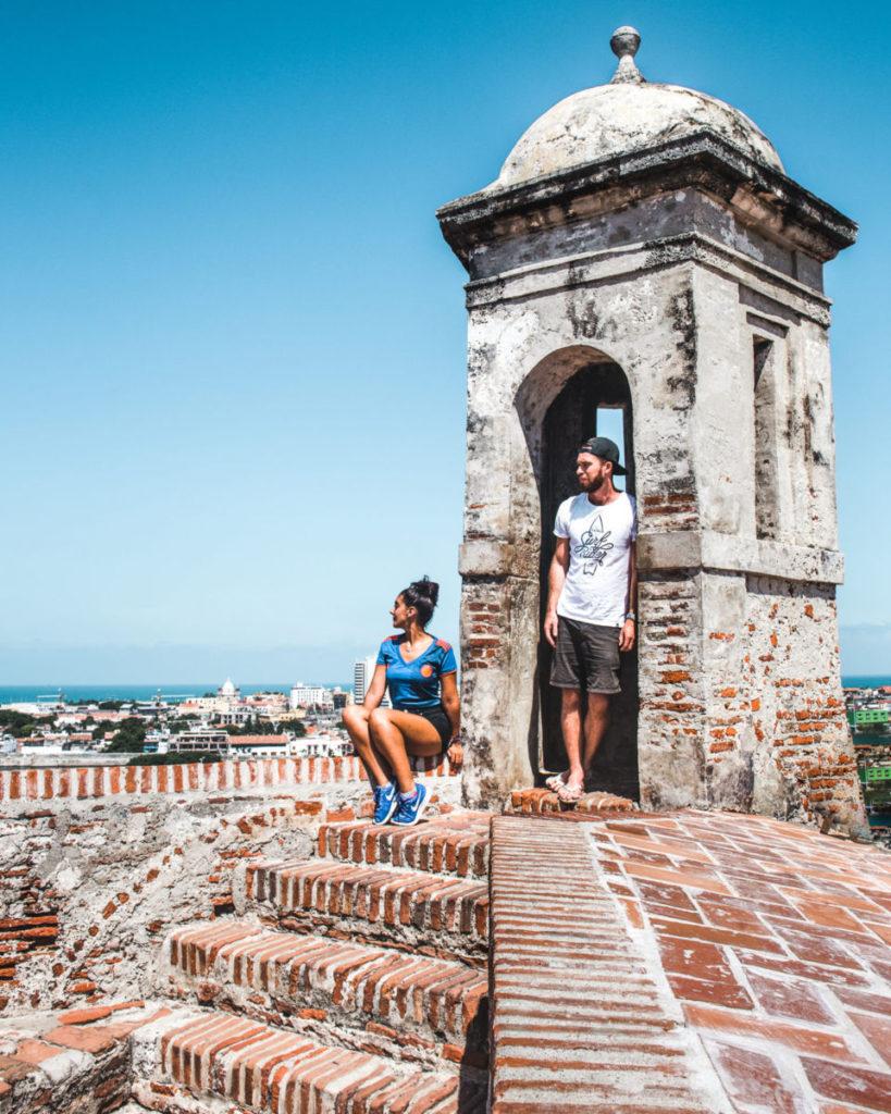 things to do in Cartagena Colombia: castillo de San Felipe castle