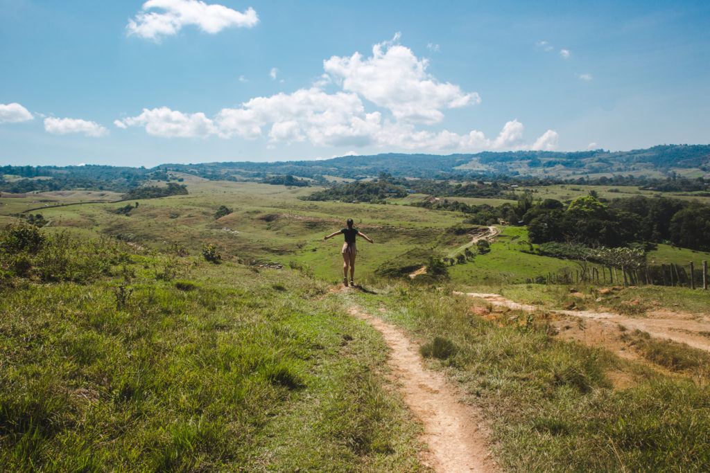 Hike how to get to to Las Gachas Guadalupe, Santander, Colombia | Travel guide to Guadalupe, Colombia | South America trip by Cuppa to Copa Travels