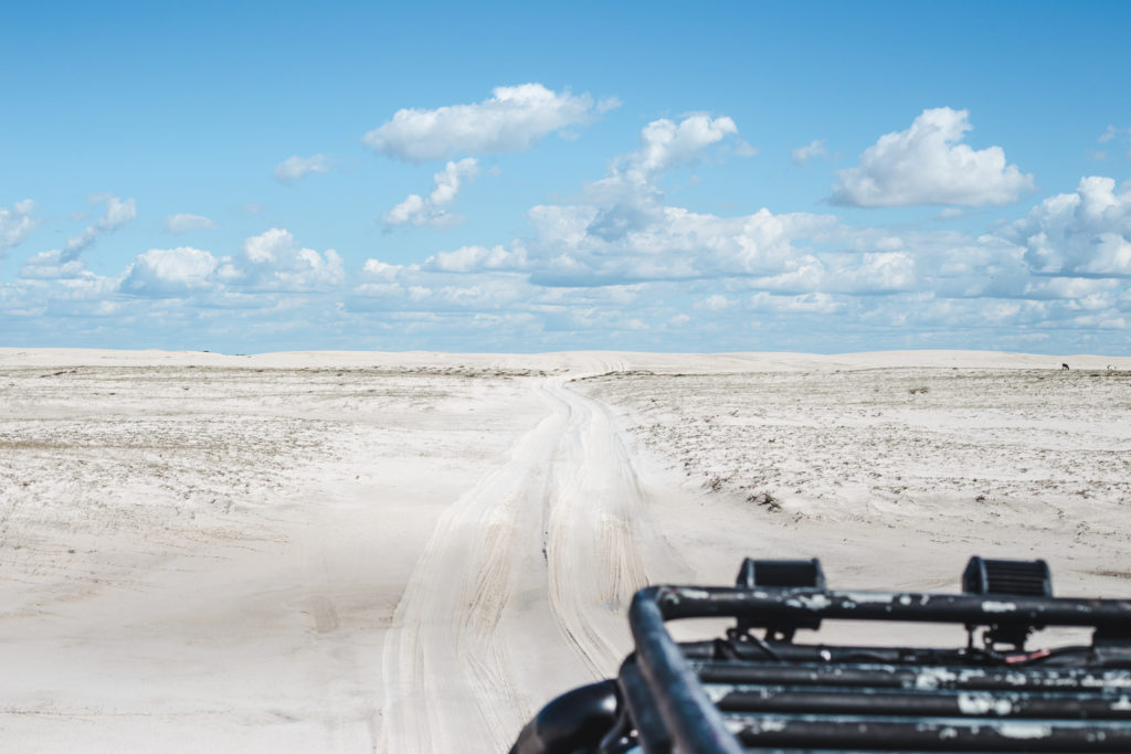 Atins accomodation jeep tour in Lencois Maranhenses Maranhao Brazil beach sand dunes sao luis