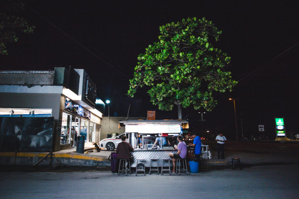 Best taco bars in Tulum downtown Mexico food