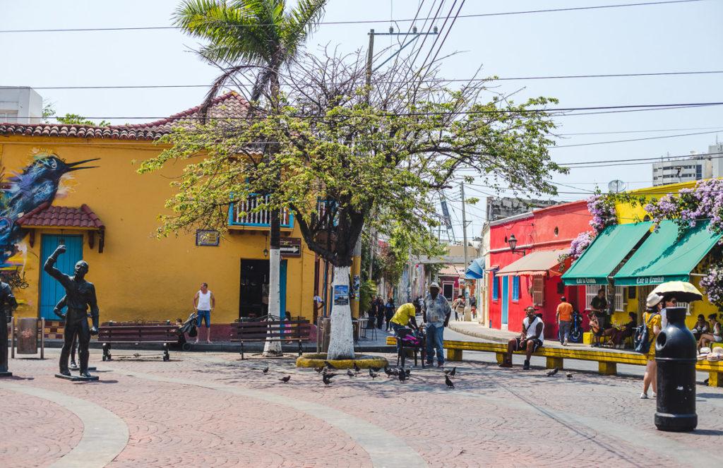 Getsemani Cartagena gentrification cost of living colombia