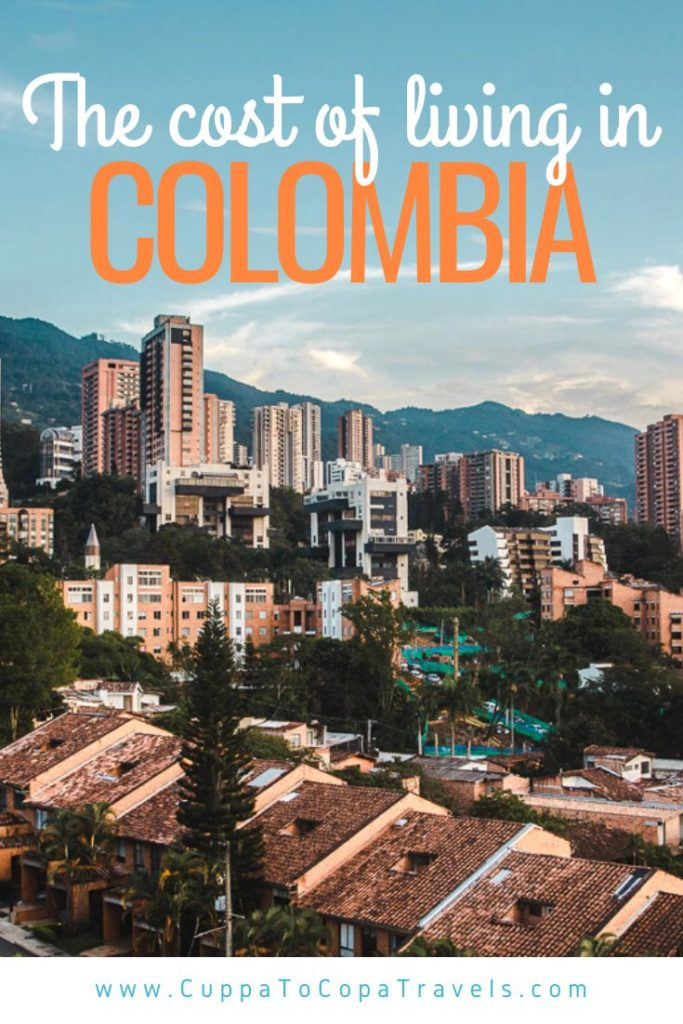 Cost of living in Colombia Medellin prices tipping